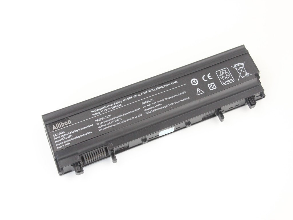 Alliboo New VV0NF Laptop Battery for Dell Latitude E5540 E5440 0M7T5F F49WX NVWGM 0K8HC 1N9C0 7W6K0 CXF66 WGCW6 [11.1V 65Wh]