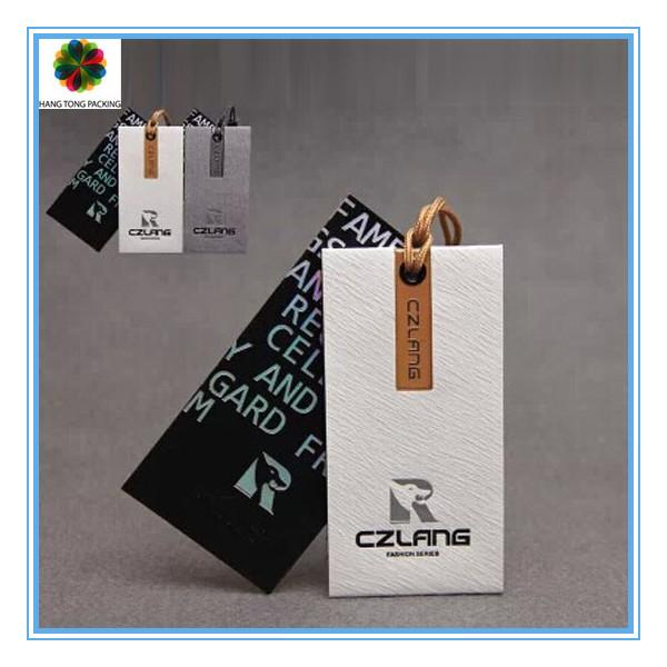 Custom Art Paper Die Cut Hang Tag For Garment And Bag - Buy Die ...