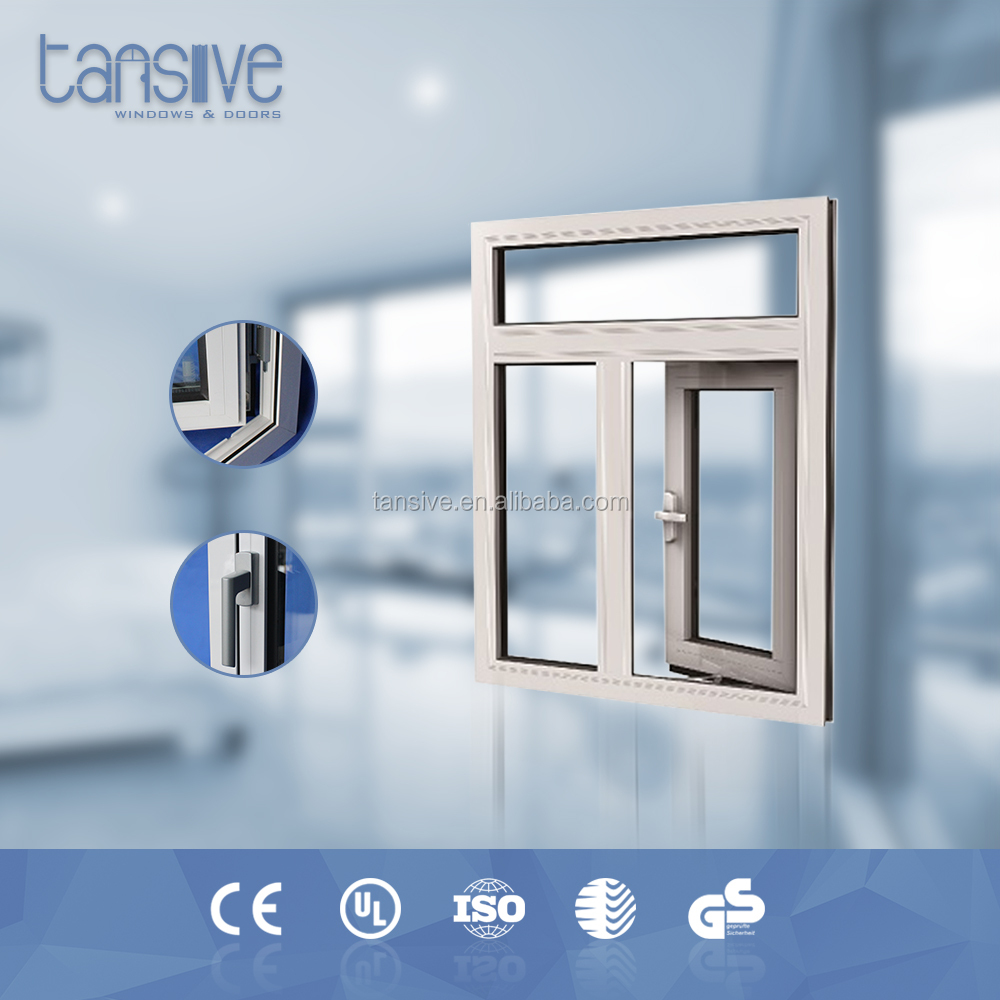 Anti-theft proof aluminium double opening house thermal insulation window