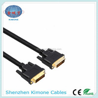 Factory price best selling pure copper male to male 14+1 dvi cable