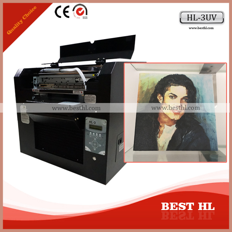 2016 Factory Direct Supply A3 UV Led Flatbed Printer Machine For Sale