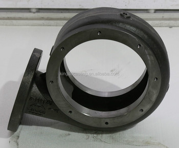 Oem Machined Ductile Iron Cornell Pump Volute - Buy Finished Cast Iron Pump  Volute,Cast Iron Spare Parts,Oem Customized Metal Mechanical Parts Product