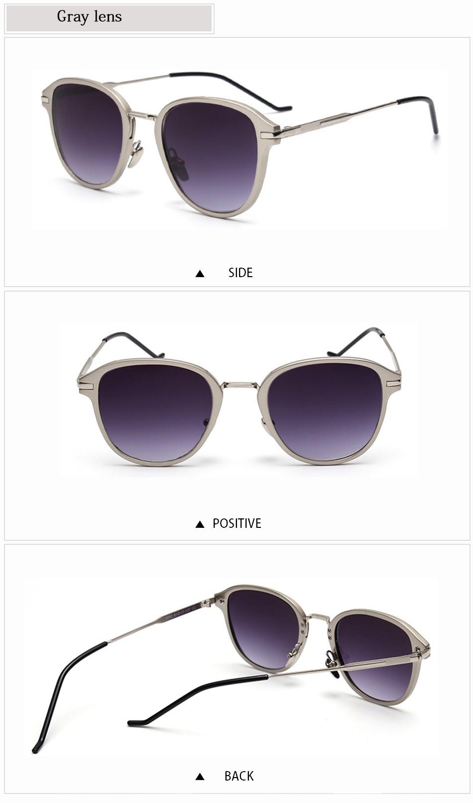 804e855cf90 FEIDU New Vintage Luxury Sunglasses Women Brand Designer Sun Glasses Anti  UV Metal Temples Gradient Ladies Sunglasses With Box
