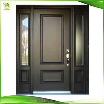 Exterior wooden front double door designs fancy doors for Double door front door designs