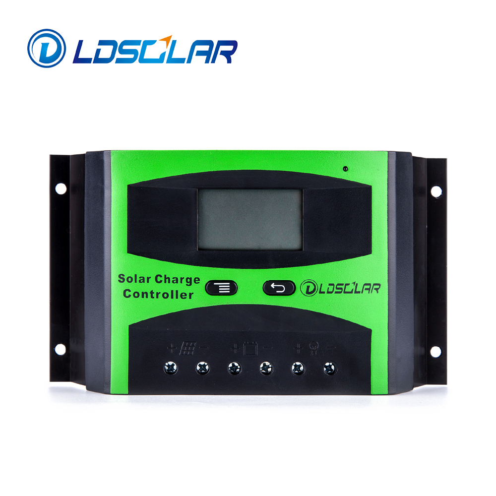 LDSOLAR best price 30A 12V 24V 36V 48V intelligent solar charge controller