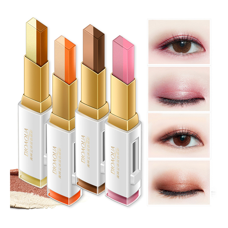 private label bioaqua beauty product natural shining eyeshadow makeup for female