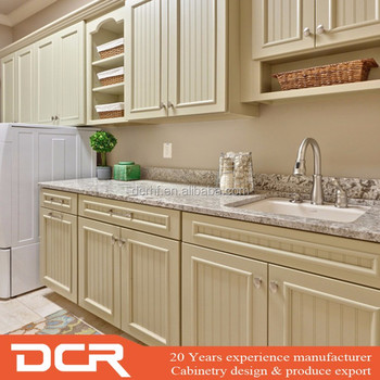 Modern Design Australian Style Plywood Melamine White Wall Cabinets For Laundry Room