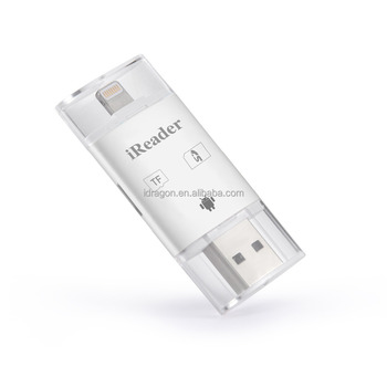 low cost 96233 0f7bb Shenzhen Make Phone Otg Usb Micro Tf Sd Card Reader For Ipad For Iphone 6  6s Plus 5 For Galaxy S7 Edge - Buy For Iphone 6s Tf Sd Card Reader,Otg  Micro ...