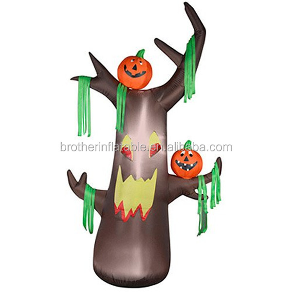 8 feet air blown inflatable ghost tree halloween