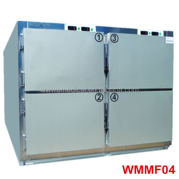 WMMF 304 stainless steel 6 bodys Mortuary morgue,mortuary refrigerator,mortuary cabinet