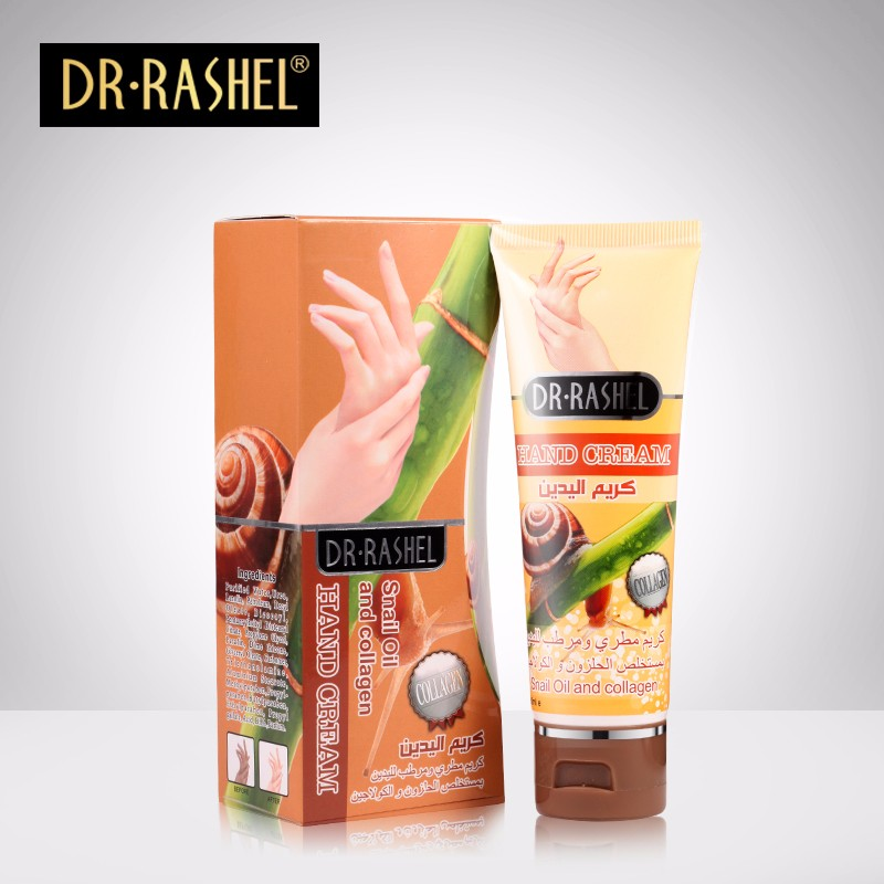 DR.RASHEL Snail Oil Collagen Long Lasting Moisture Smooth Skin Crack Treatment Hand Cream