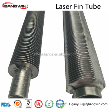 TOP1 stainless steel laser welding fin tube by bang win