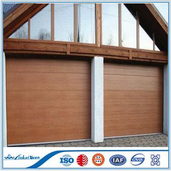 Flat Panel Garage Door CE Certificate | Panel Sectional Garage Door