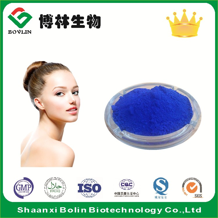 Best Price for Cosmetic Grade Pure Copper Peptide in Bulk