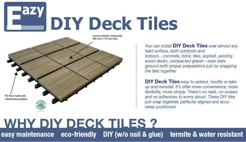 eco friendly diy deck. Decking Tiles With Plastic Floor Mat - Buy Interlocking Product On Alibaba.com Eco Friendly Diy Deck