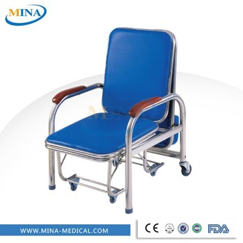 MINA-P2 Waterproof folding hospital chair bed sleeper cheap price  sc 1 st  Alibaba & Mina-p2 Waterproof Folding Hospital Chair Bed Sleeper Cheap Price ...