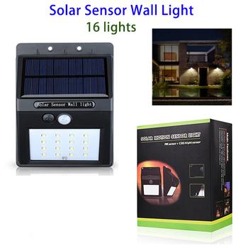 Private Label Motion Sensor Waterproof 16 Led Outdoor Solar Sensor ...