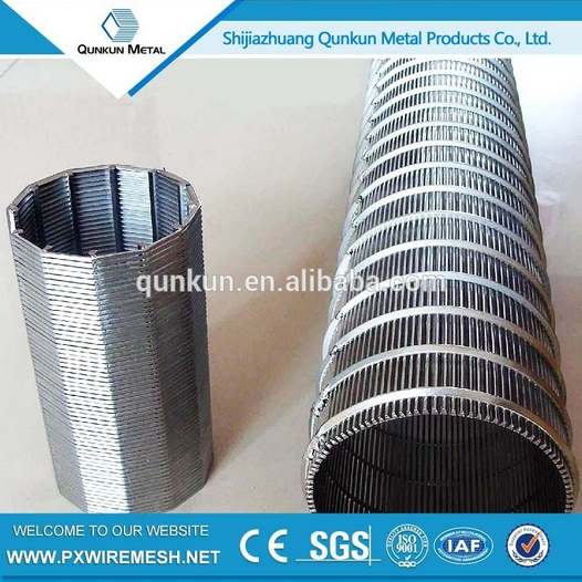 A1073 Pvc Water Well Johnson wedge Screen/sand Control Screen Pipe wire screen/wedge wire screen