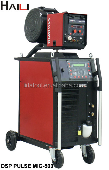 Inverter Dc IGBT Moudle DSP DOUBLE PULSE MIG/MAG Welder(DSP PULSE MIG-500)