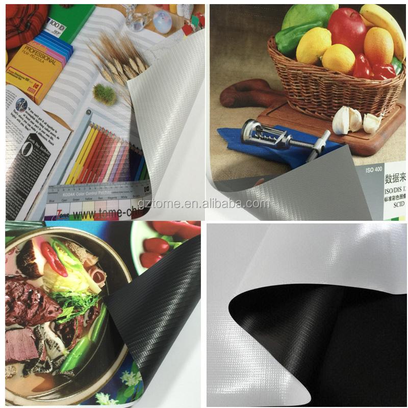 Preço de fábrica rolos de banner flex pvc para materiais de placa de cartaz de publicidade