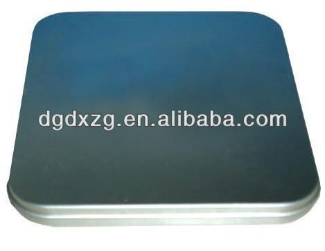 Square DVD Tin Can