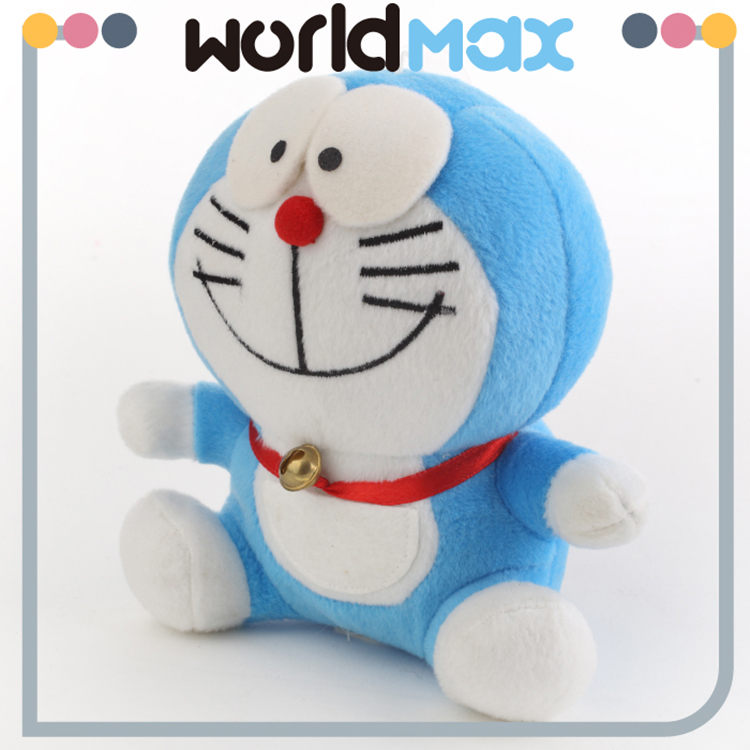 New Products And Adorable Smiling Doraemon Soft Baby Toys
