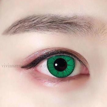 1f2b7242cb Belleza color precio al por mayor lentes de contacto ojos divertidos de  lentes de contacto