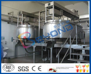 complete turn-key project of small cheese making plant/cheese production line