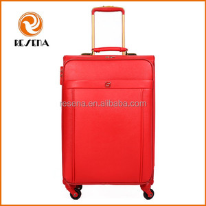 High Quality Material Soft Travel Trolley Luggage,Luggages Bag Luggage,PU Material Luggage Bag