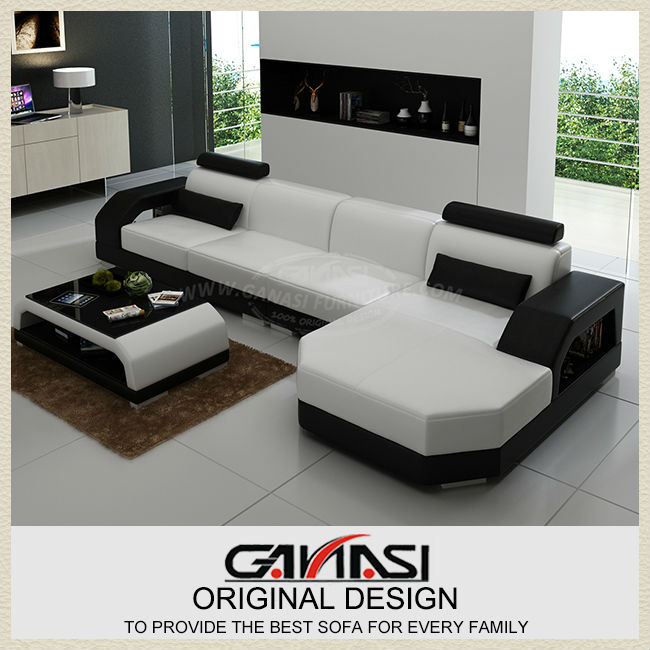 Antique Sectional Sofas Reception Furniture Set Creative Leather