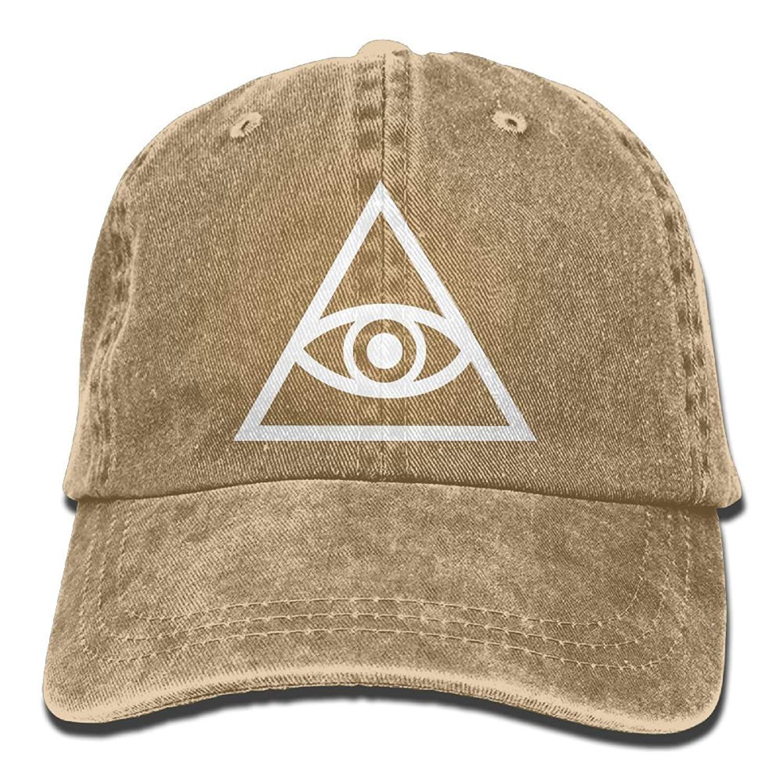 Get Quotations · UCOOLE Illuminati Symbol Dad Hat Adjustable Denim Hat  Classic Baseball Cap f3e7ca4731e1