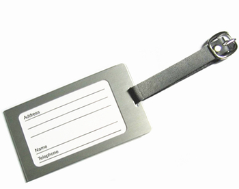 Personalized Metal Luggage Tag Custom Luggage Tag Wholesale
