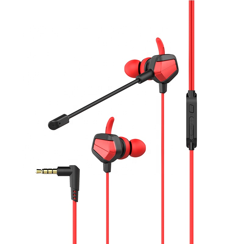 T7 Noise Cancelling Small Gaming Earbuds Wired in-Ear Headphones with Mic - idealBuds Earphone | idealBuds.net