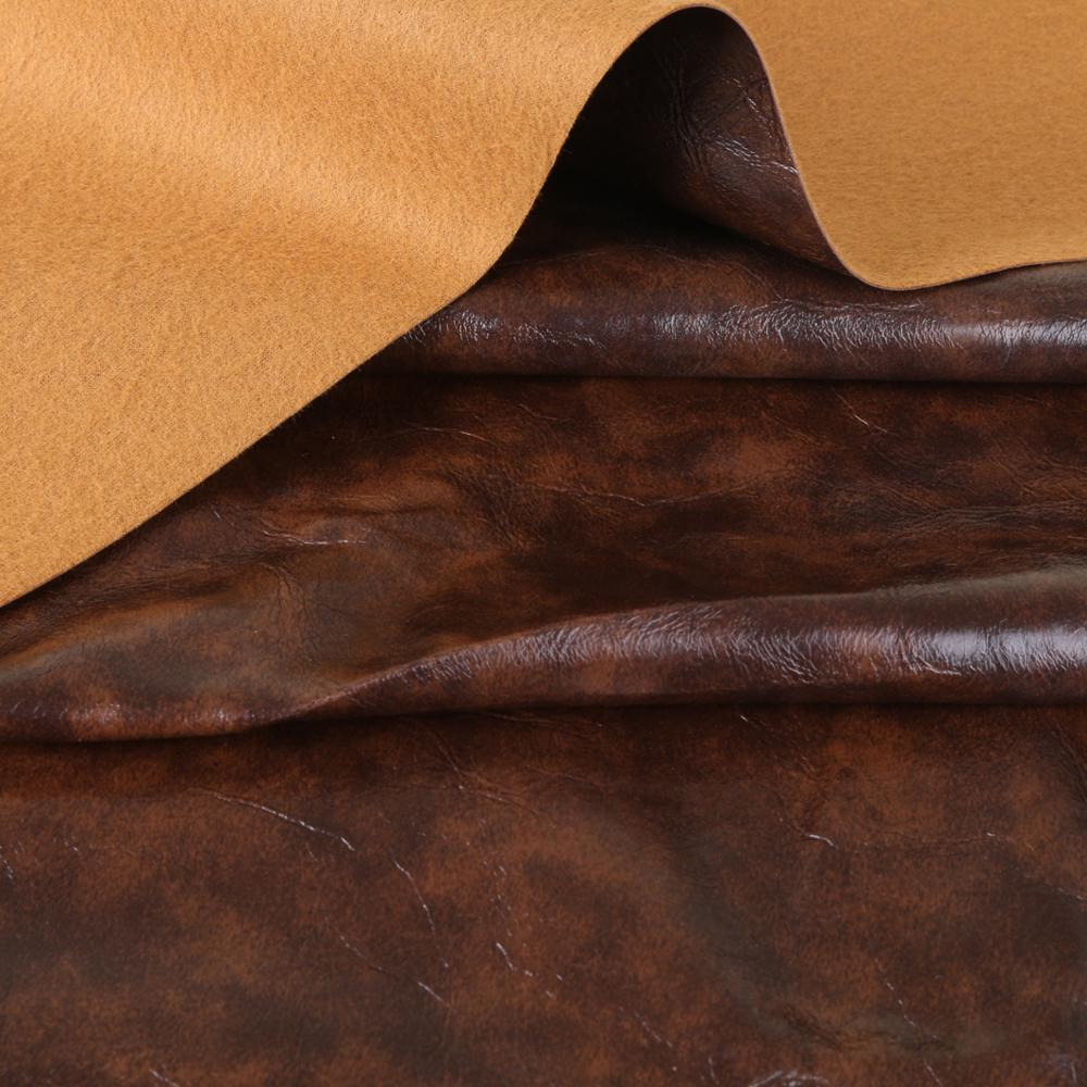 Synthetic leather upholstery