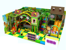 HLB-D1712302 Children Jungle Gym theme Indoor Play Land Indoor Playground Equipment For Kids