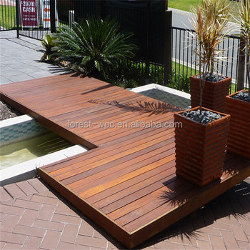 new material outdoor black wpc decking polywood decking
