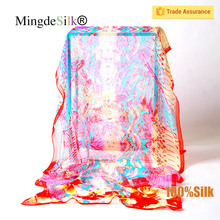 silk georgette scarf wholesale china