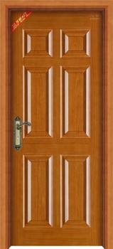simple india door natural veneer wooden single door designs & Simple India Door Natural Veneer Wooden Single Door Designs - Buy ...