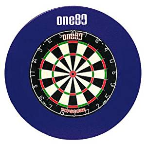 ONE80 DELUXE DARTBOARD SURROUND BLUE RUBBER RING