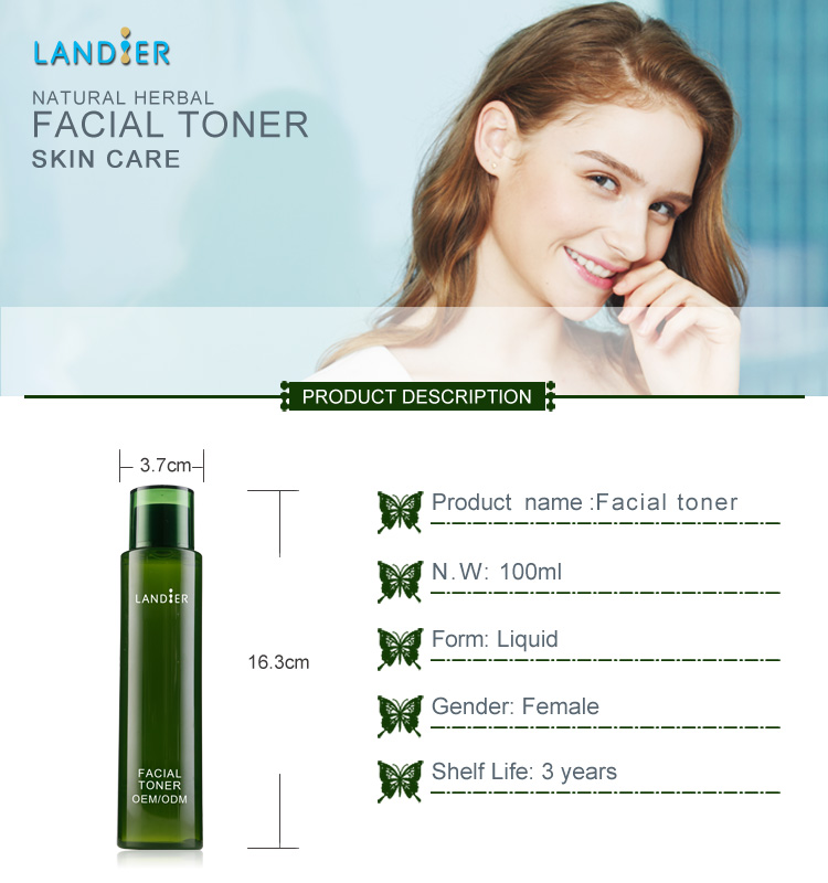 Private Labeling Best Natural Facial Skin Energetic Soothing Toner