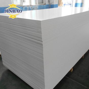 White Block Pvc Foam Sandwich Wall Panel Boards For Parion