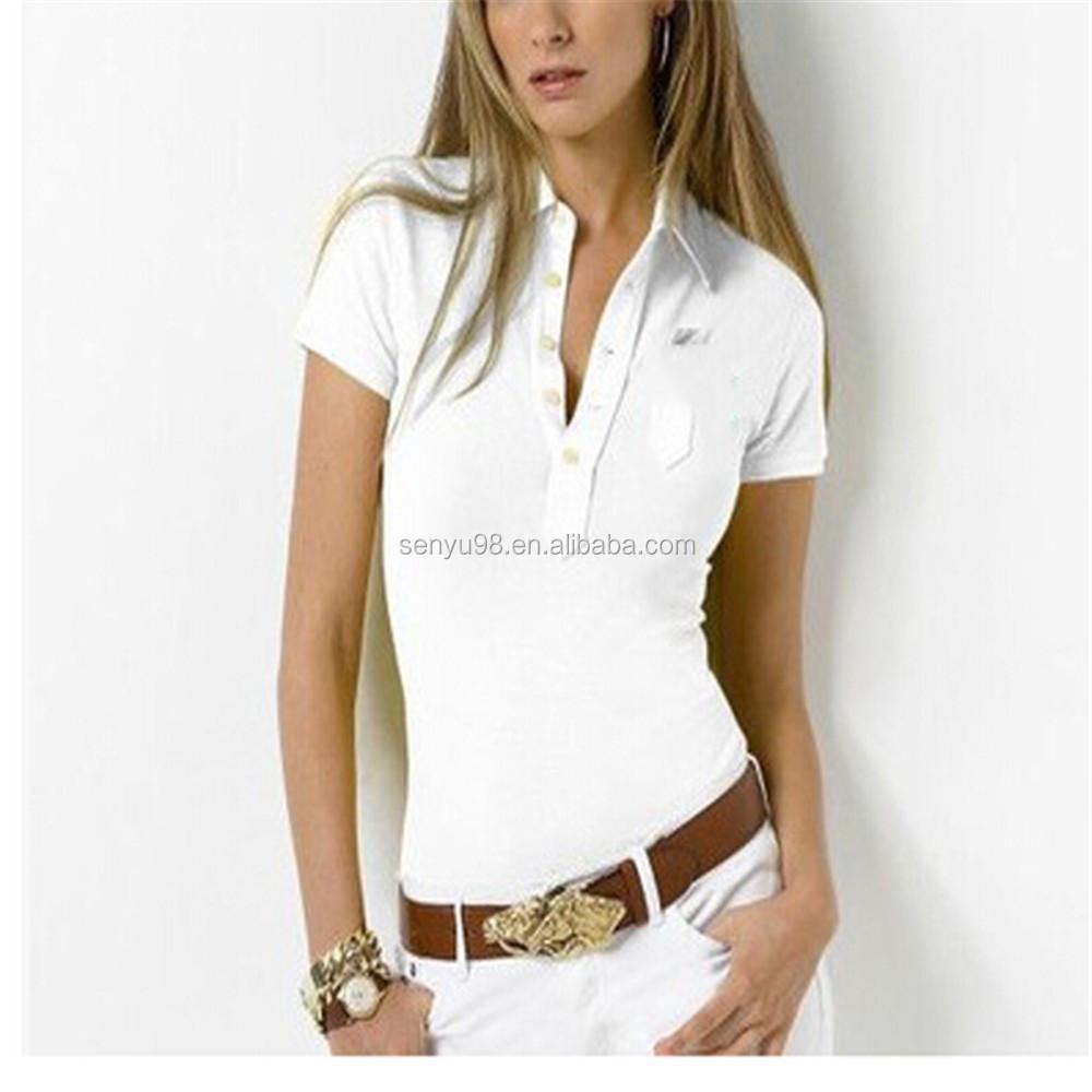 women s custom white polo t shirts  eacd833b3