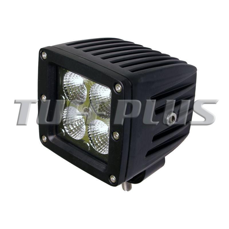 3inch Cube Jeep Wrangler Cj Tj Jk 20w Led Work Light With Flush ...