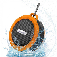 Mini Portable Shower BT Bluetooth Wireless Waterproof Speaker with Sucker
