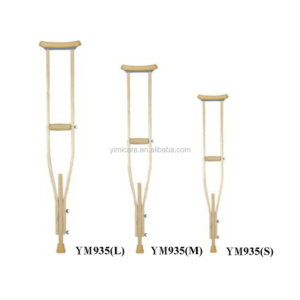 Fashionable epoxy resin color large walking arm crutches factory
