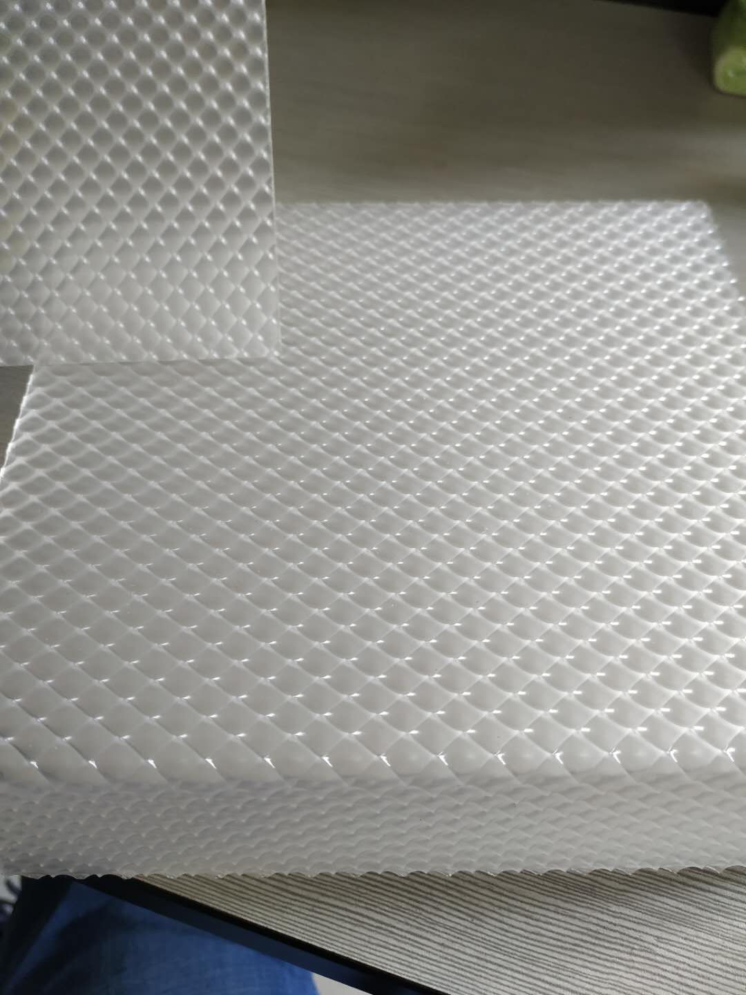 Factory wholesale  prismatic led light diffuser sheet 1220*2440mm for LED panel lights lampshade / cover 1mm to 5mm thick