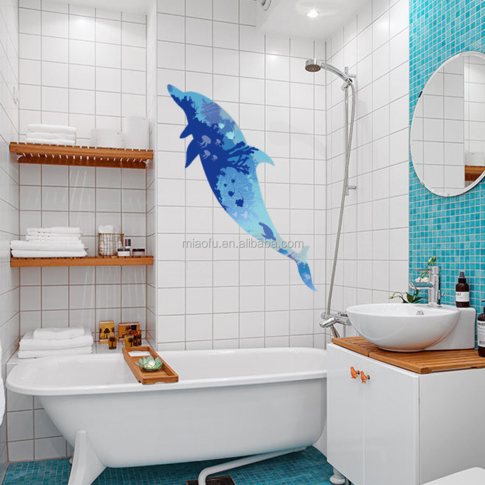 Waterproof 3d Bathroom Wall Tile Stickers - Buy 3d Bathroom Wall ...