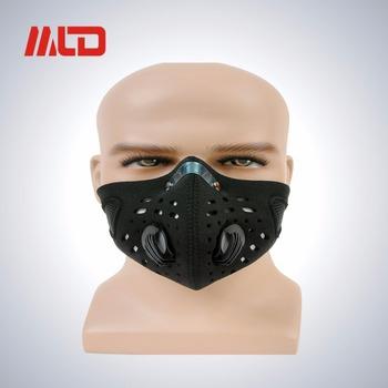 Custom Microfiber Neoprene Half Face Mask Wind Protection Outdoor Work  Running Bike Face Mask 35d6acb6efa2