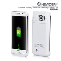 CE FCC rohs Samsung Phone Case Battery Wireless Charger Case For Samsung Galaxy S6 Power Case Charging Pack