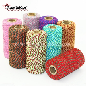 Economic new products colorful baker cotton twine